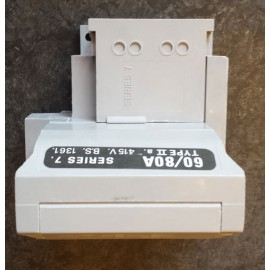 WT Henley House Service Cut-out Holder for 60A or 80A SP & N Fuses, Henley Type II Series 7
