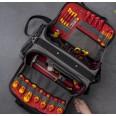 CK Magma Pro Tool Case MA2640, Dual Side Heavy Duty Tool Storage Bag 60 Pockets