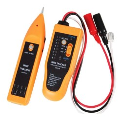 Network Cable Tester and Tracker for Data (CA5e and CAT6e), Telephone Wire, Computer Network and Daily Maintenance work