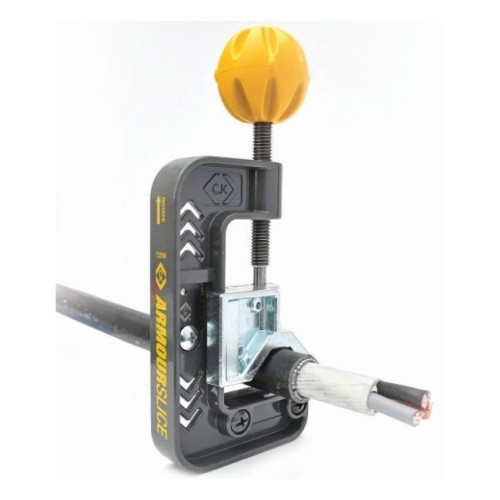 CK Tools Armoured Cable Slicer SWA Cable Stripper 12-36mm Diameter, ArmourSlice T2250