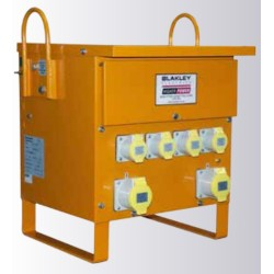 110V 10kVA Site Transformer, Single-Phase, 230:110 CTE, 4 x 16A & 2 x 32A 110V sockets