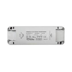 230V input 11.5V Output 10-150VA Dimmable Electronic Transformer for Low Voltage Lighting 10-150W Loads, Mode ET-150-PL-230-RD