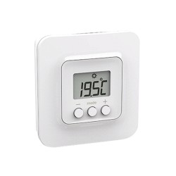 Elnur ECRSTAT Connected, Wireless Room / Zone Thermostat for Remote Control of Heating