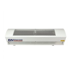 9kW High Velocity Warm Air Curtain 1113mm for Above-door Mounting in White (max. 1m door width) BN Thermic HCA2-09