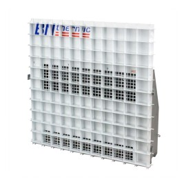 4.5kW 370m3/h Suspended Ceiling Heater for Mounting into a 600 x 600mm Ceiling Grid c/w Egg-crate Grille