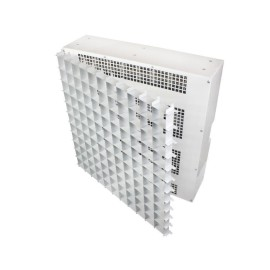 6.0kW 490m3/h Suspended Ceiling Fan Heater for Mounting into a 600 x 600mm Ceiling Grid c/w Egg-crate Grille