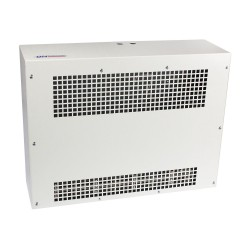 3kW 245m3/h Heater for Ceiling Surface or Suspension in White with Low Profile BN Thermic SMH-30