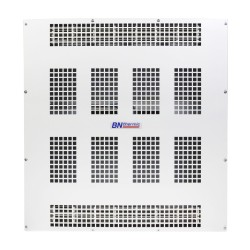 6kW 490m3/h Heater for Ceiling Surface or Suspension in White with Low Profile BN Thermic SMH-60