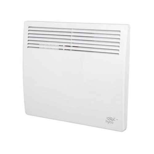 1kW White Panel Heater with Timer, Wall Mounted Hyco AC1000T Accona Panel Heater Lot 20 Ecodesign Compliant