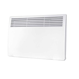 2.0kW Panel Heater with 7 Day Timer and Thermostat in White 400mm x 830mm x 90mm