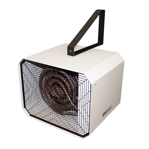 10kW Industrial Fan Heater (3 Phase no Neutral) for Heating Industrial Premises BN Thermic OUH2-10