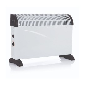 Modern 2kW Convector Heater with 3 Power Settings, Thermostat, and Timer, Scirocco Floor Standing Heater