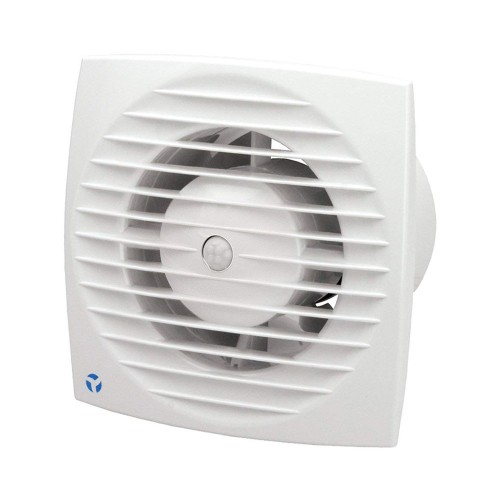 Aura-Eco 100mm 5.6W Toilet Fan with Motion Motion Sensor and Adjustable Timer for Wall/Ceiling Airflow 9041350