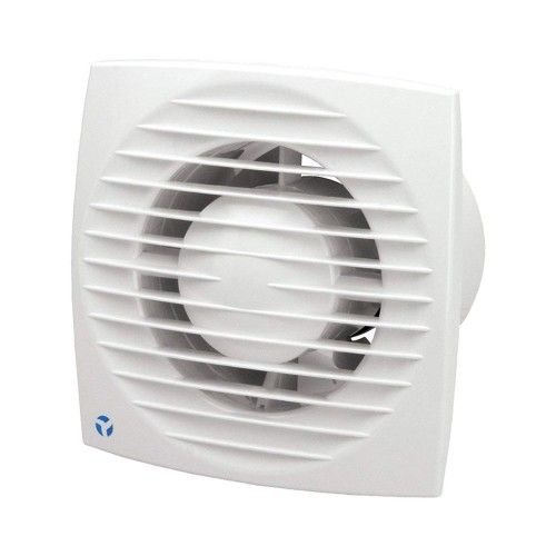 Aura-Eco 100mm 5.6W Toilet Fan with Humidity Sensor and Adjustable Timer for Wall/Ceiling Airflow 9041349