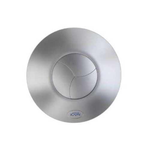 Airflow iCON15 Silver Front Cover for iCON15 Extractor Fans, Airflow iCVSV15 / 52634504B