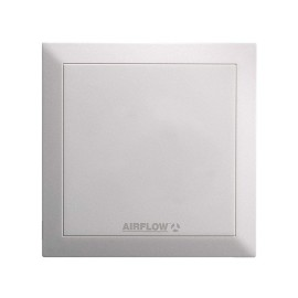 Airflow Quietair 4-inch (100mm) Ventilation Fan with Two Speed Options 5W 75 or 90m3/h Airflow 9041259 Axial Extractor Fan