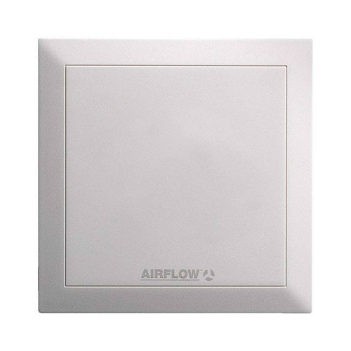 Airflow QuietAir White Replacement Fan Cover for use with the QuietAir QT100 100mm Range of Fans