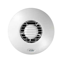 iCON15 100mm Stylish Toilet and Bathroom Fan, Airflow iC15 / 72591501 Axial Ventilation Fan