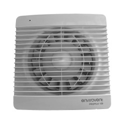 Envirovent Profile 150mm Slim Standard Fan IP44 for Bathroom and Kitchen Wall / Ceiling