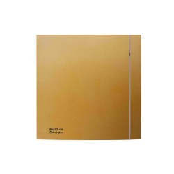 Gold Front Cover for Envirovent Silent Design 100 Ventilation Fan (cover only)