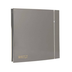 Grey Front Cover for Envirovent Silent Design 100 Ventilation Fan (cover only)