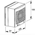 Window Kit for the Envirovent Silent 100 Extractor Fans, Silent 100 Windows Kit