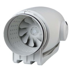 100 mm 2 Speed In-Line Axial Fan for Ducted Systems, Envirovent TD-250/100 4 inch fan