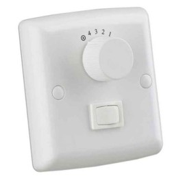 4 Speed and Off Wall Control Switch in White with Light Control for Westinghouse Ceiling Fans