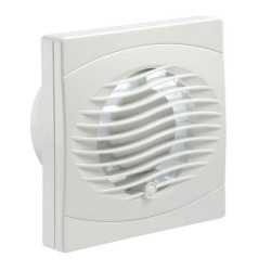 Manrose Low Voltage 100mm Bathroom Fan with Timer, 4 inch 12V toilet extractor fan