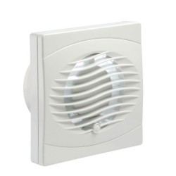 Manrose Bathroom Extractor Fan 100mm with Timer for Wall / Ceiling (economy range)