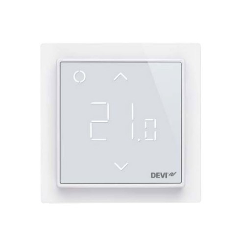 DEVIreg Smart Pure White Intelligent Electronic Timer Thermostat with Wi-Fi connectivity and App control