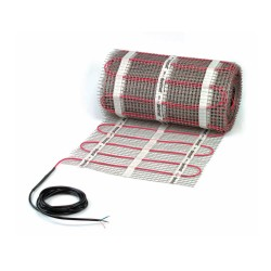 DEVImat 0.5 m2 Underfloor Heating Mat (0.5 x 1 m) 75W for Concrete Floors DEVIcomfort 150T (DTIR) 150W/m2