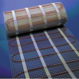 3.0m x 0.5m 0.22kW Underfloor Heating Mat covering 1.5m2, BN Thermic 150-015 Standard Heating Mat 150W/m2