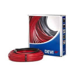 DEVIcomfort 10T DTIR 100W 10m Floor Heating Cable Loose Lay kit, Ultra Thin, 0.65 - 1.0m2