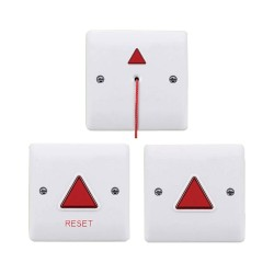 Disabled Persons Toilet Alarm Kit ESP UDTAKIT with Indication Module, Pull Cord Module, and Reset Module