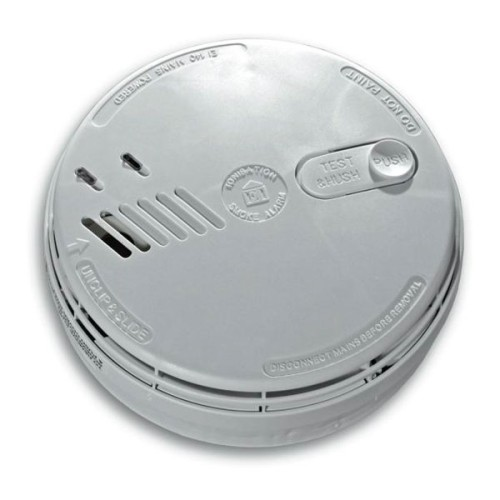 Aico Ei141RC Ionisation Smoke Alarm Mains Powered with Battery Back-up and Remote Control Functionality