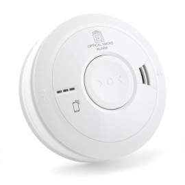 Aico Ei3016 Optical Smoke Alarm with AudioLINK Technology, Intelligent Dust Compensation, and Reduced False Alarms