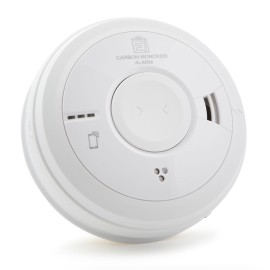 Aico Ei3018 Carbon Monoxide Alarm with Electro-Chemical Sensor, AudioLINK, and Easi-Fit Base