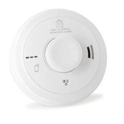 Aico Ei3028 Multi-Sensor Fire Alarm - Heat and Carbon Monoxide Alarm with AudioLINK