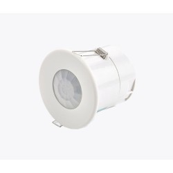 Ceiling Flush PIR Presence/Absence Detector with Lux Level Sensing and Time Delay CP Electronics EBDSPIR