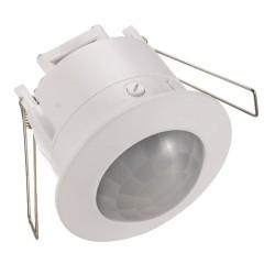 Recess PIR Sensor 360deg Detection Range, Flush Occupancy Detector with Adjustable Time Delay