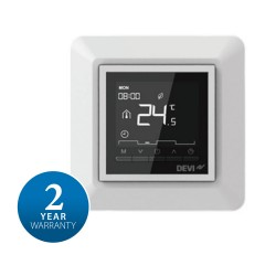 DEVIreg Opti Pure White Electronic Thermostat with Programmable Timer Eco-Design Danfoss 140F1055