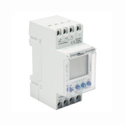 DIN Rail Mounted Digital Timer 2 Channels BG CUTS11-01 for Install in Consumer Unit