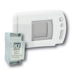 Wireless Programmable Digital Thermostat 16A for Controlling Heating and Air Conditioning Systems