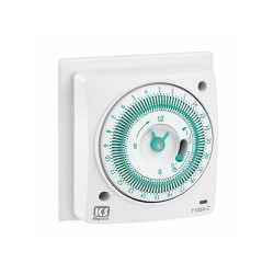 24h Mechanical Socket Box Timer, 240V 16A Timer with 96 Settings for Heating Applications
