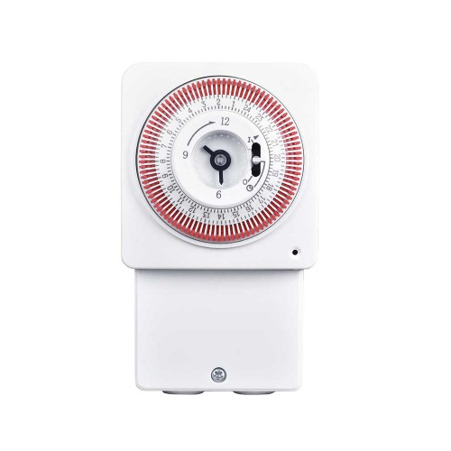 Mechanical Daily Immersion Timer control for 16A Immersion Heaters, Towel Rails, and Lighting