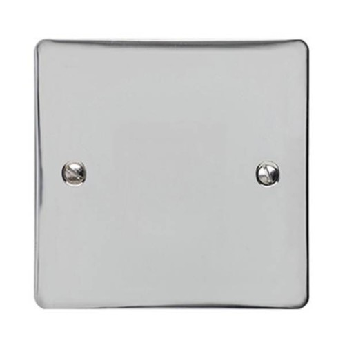 1 Gang Single Blank Plate