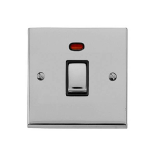 1 Gang 20A DP Switch with Neon