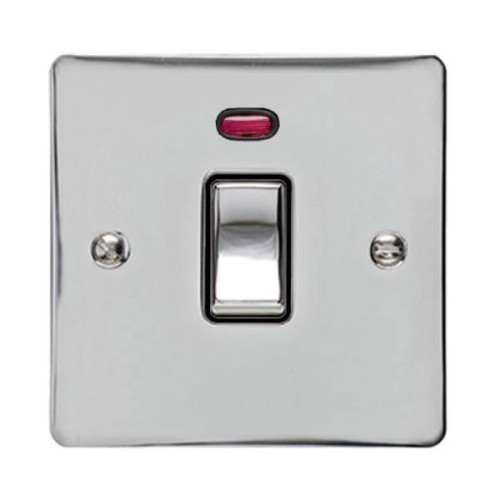 1 Gang 20A Single DP Switch with Neon