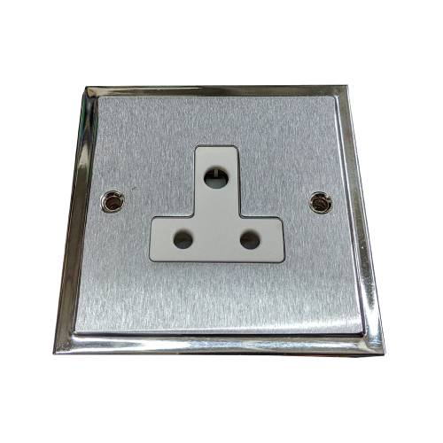 1 Gang 5A 3 Pin Unswitched Socket